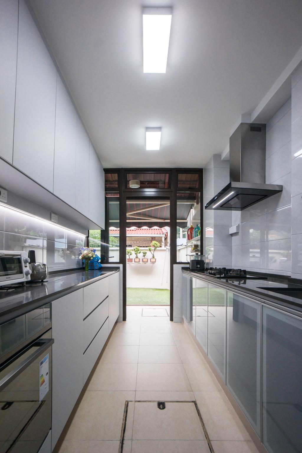 Contemporary, Landed, Kitchen, West Coast Terrace, Interior Designer, Flo Design