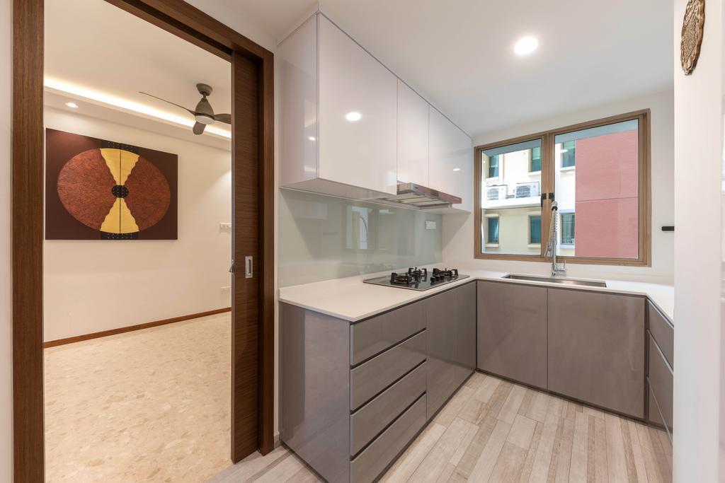 Contemporary, Condo, Kitchen, The Rivervale, Interior Designer, The Orange Cube