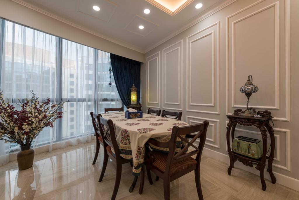 Modern, Condo, Dining Room, Water Place, Interior Designer, Project Guru