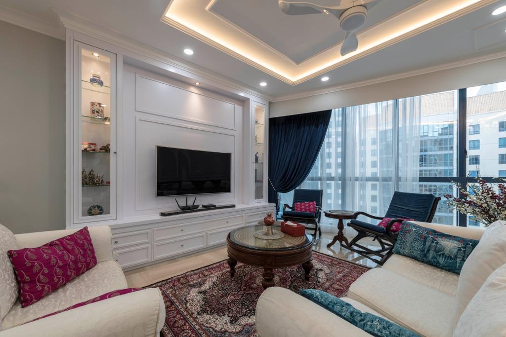 Modern, Condo, Living Room, Water Place, Interior Designer, Project Guru