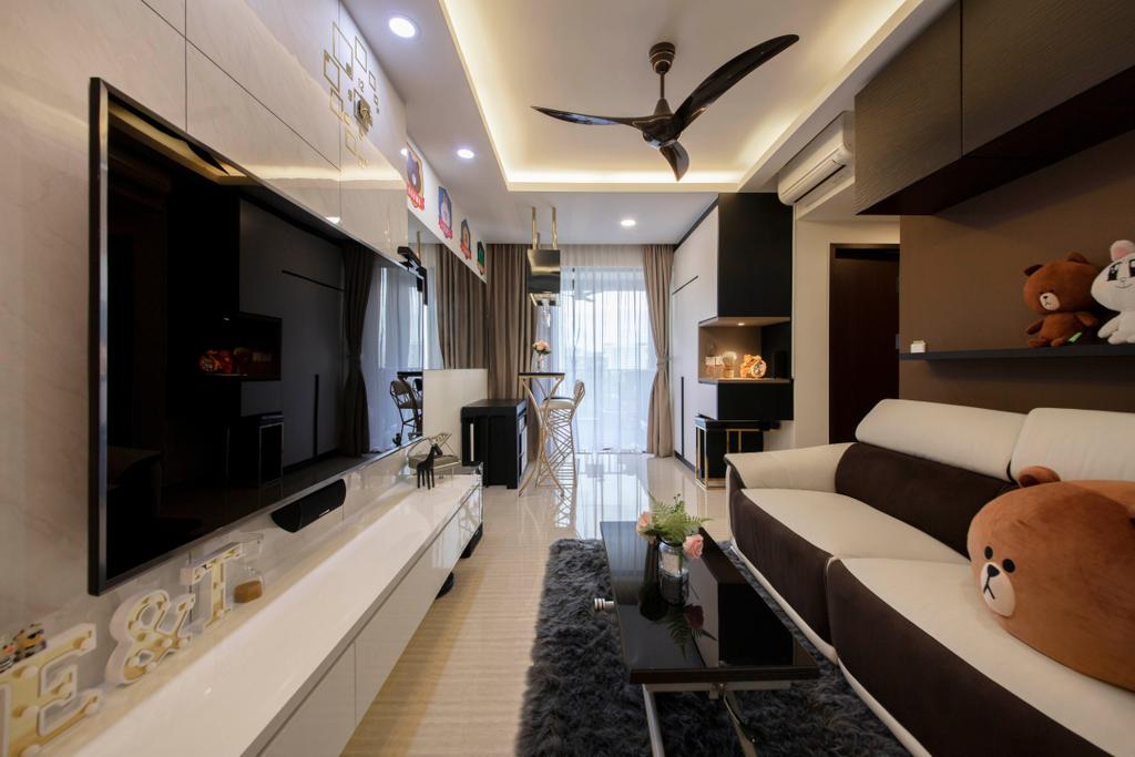 Contemporary, Condo, Living Room, The Brownstone, Interior Designer, Starry Homestead