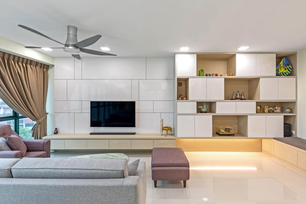 Contemporary, Condo, Living Room, The Springbloom, Interior Designer, Starry Homestead