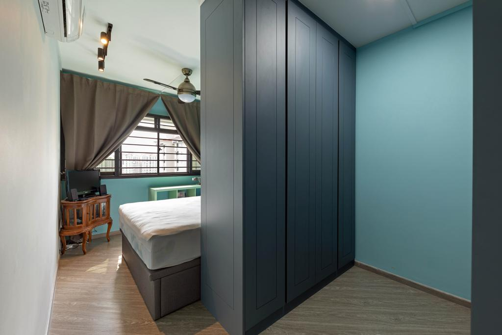 Contemporary, HDB, Bedroom, Compassvale Walk, Interior Designer, New Age Interior