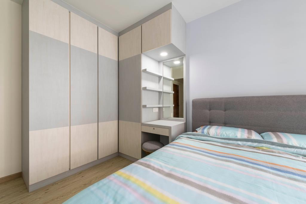 Contemporary, HDB, Bedroom, Choa Chu Kang Avenue 7, Interior Designer, Starry Homestead