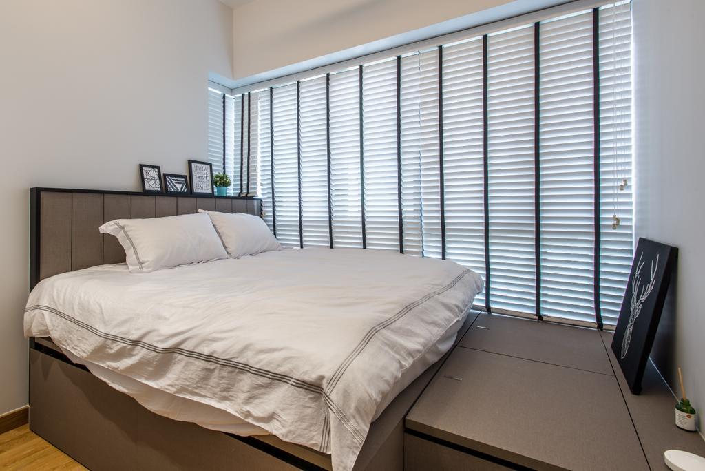 Contemporary, Condo, Bedroom, Alex Residences, Interior Designer, Luova Project Services