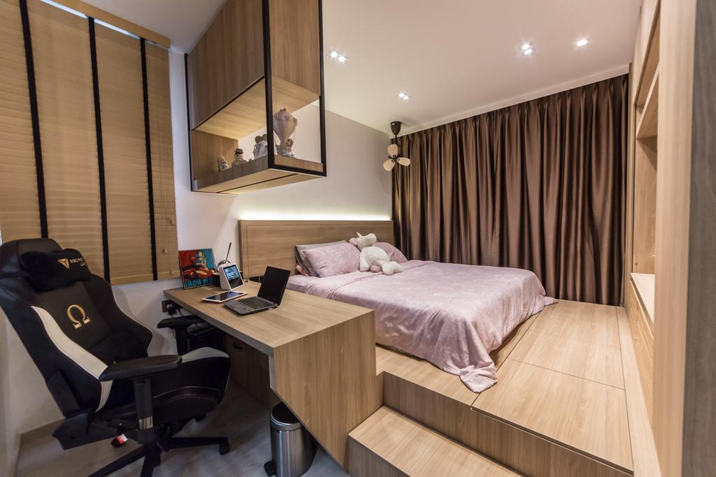 Contemporary, Condo, Bedroom, Bellewaters, Interior Designer, Luova Project Services