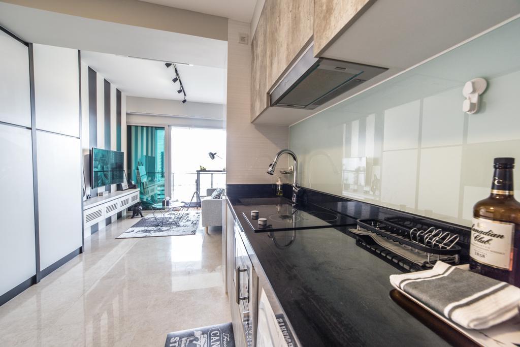Contemporary, Condo, Kitchen, Eight Riversuites, Interior Designer, Luova Project Services