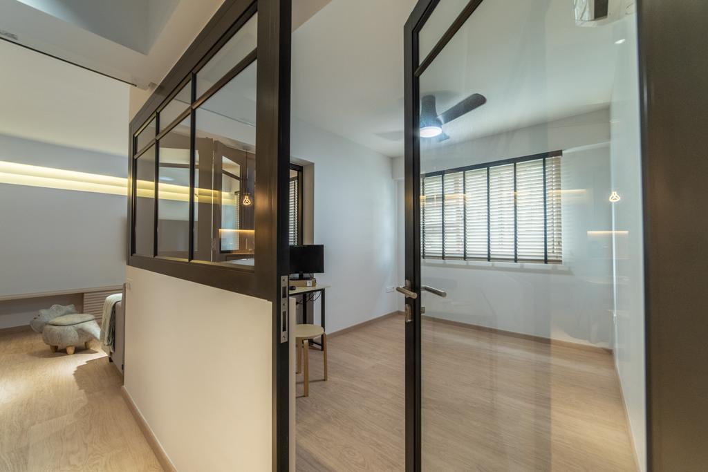 Contemporary, HDB, Telok Blangah Street 31, Interior Designer, Luova Project Services