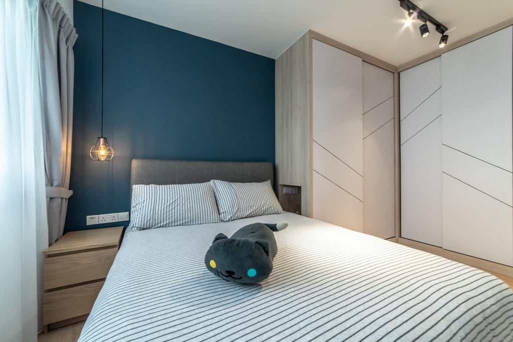 Contemporary, HDB, Bedroom, Telok Blangah Street 31, Interior Designer, Luova Project Services