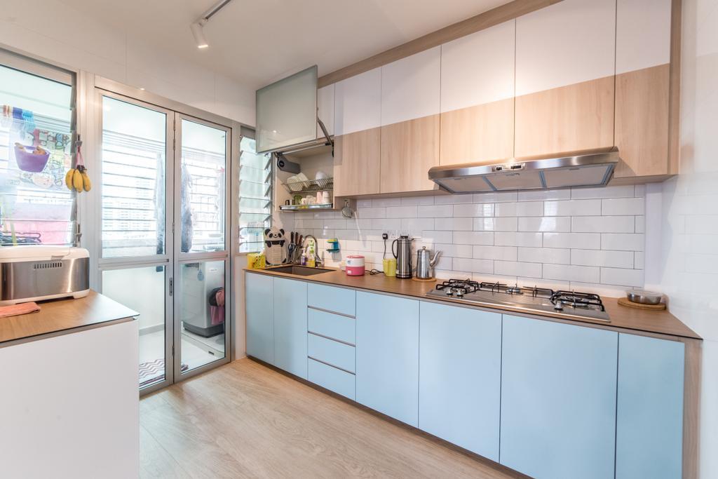 Contemporary, HDB, Kitchen, Lorong 1 Toa Payoh, Interior Designer, Luova Project Services