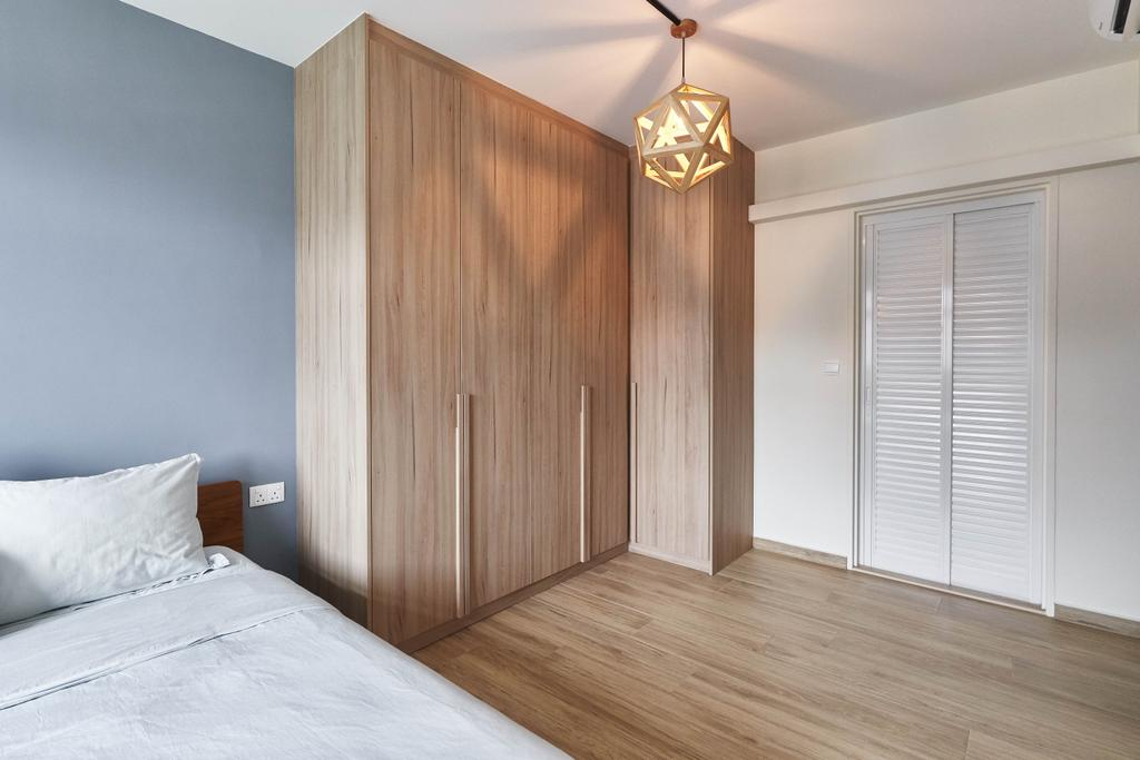 Contemporary, HDB, Bedroom, Canberra Crescent, Interior Designer, Space Atelier