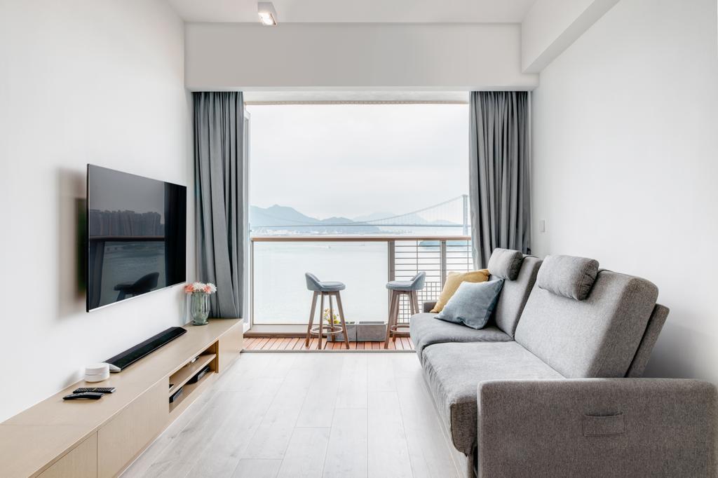 工業, 私家樓, 客廳, 海雲軒, 室內設計師, N'creative, 摩登