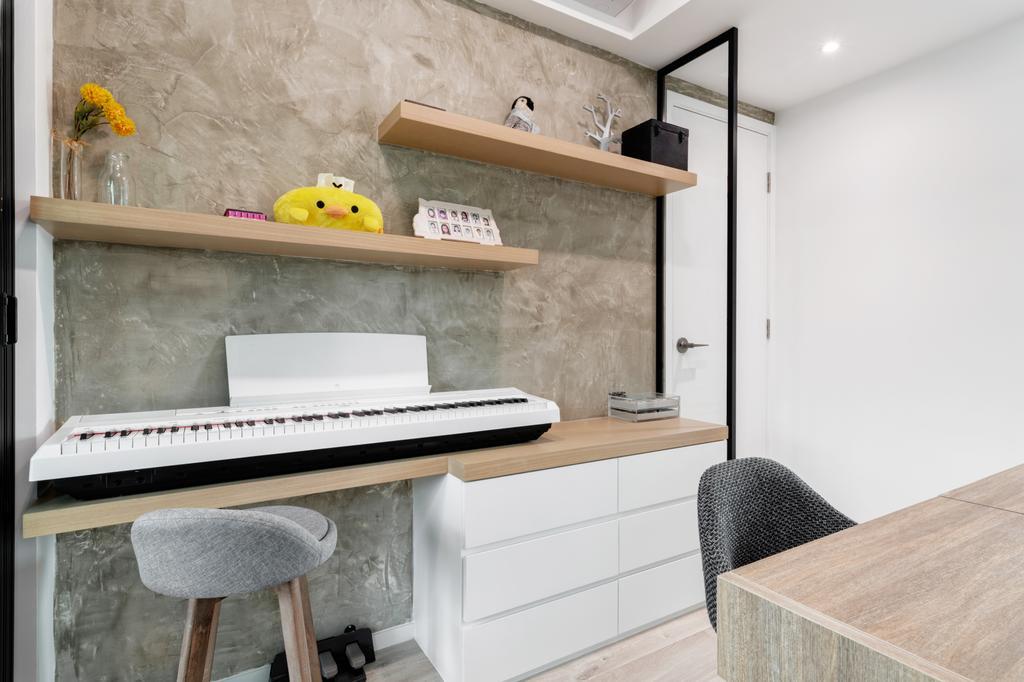 工業, 私家樓, 睡房, 海雲軒, 室內設計師, N'creative, 摩登