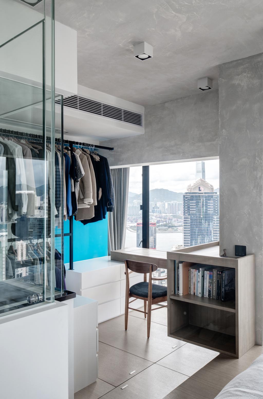 工業, 私家樓, 書房, 蔚晴軒, 室內設計師, N'creative, 復古