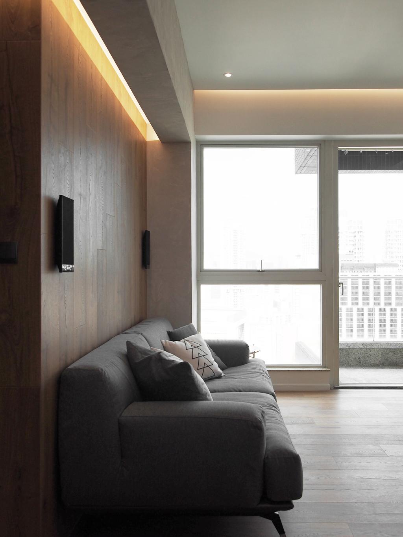私家樓, 客廳, 君匯港, 室內設計師, N'creative