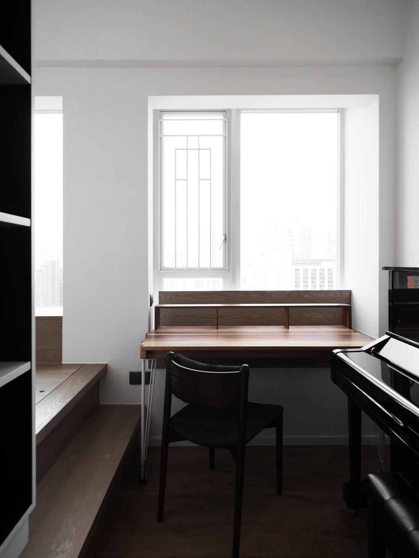 私家樓, 書房, 君匯港, 室內設計師, N'creative