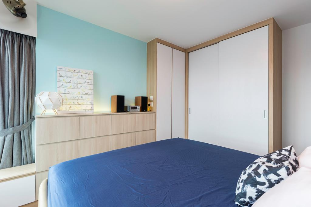 Contemporary, HDB, Bedroom, Clementi Avenue 3, Interior Designer, The Roomakers