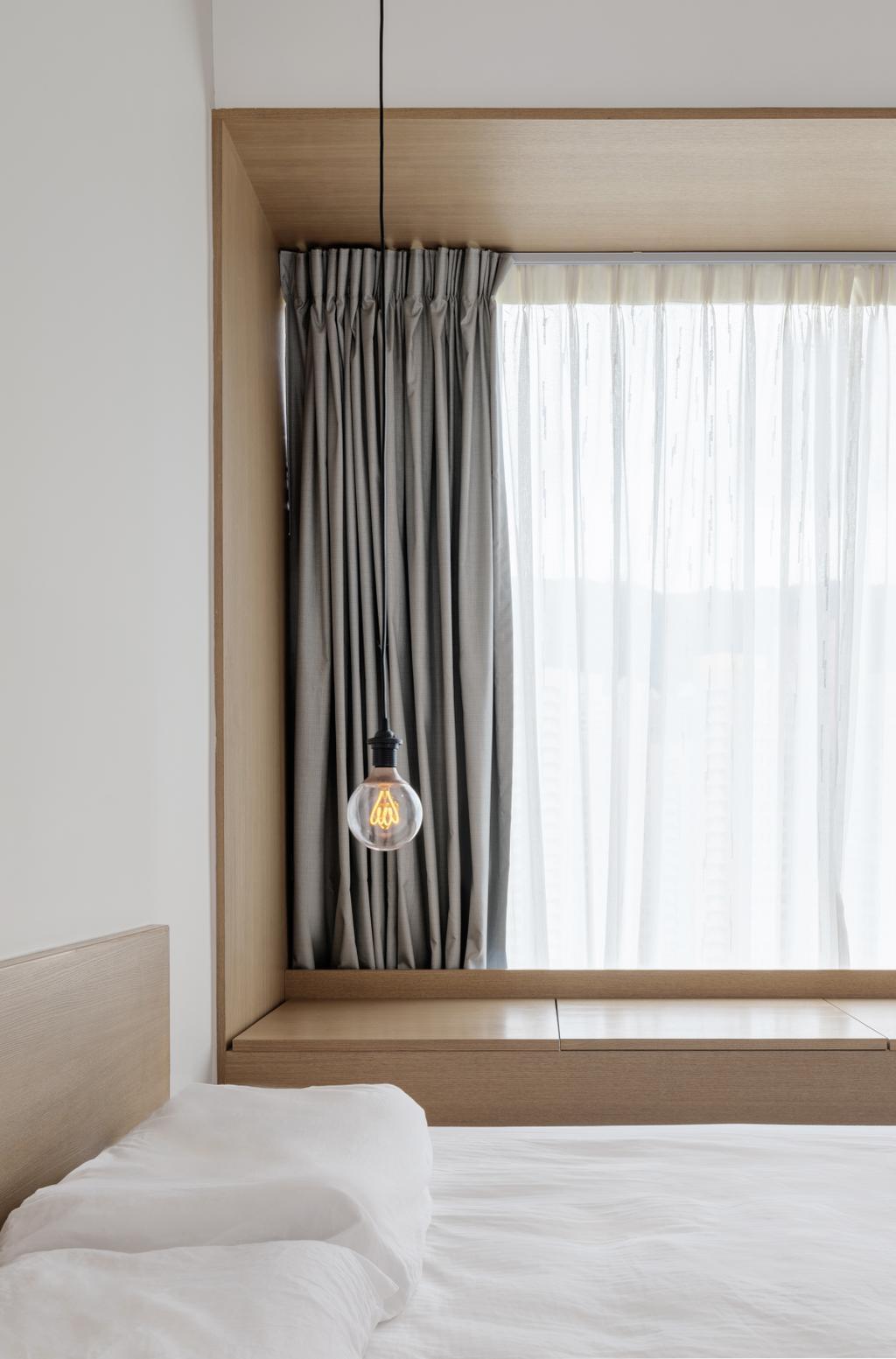 摩登, 私家樓, 睡房, 現崇山, 室內設計師, N'creative, 北歐