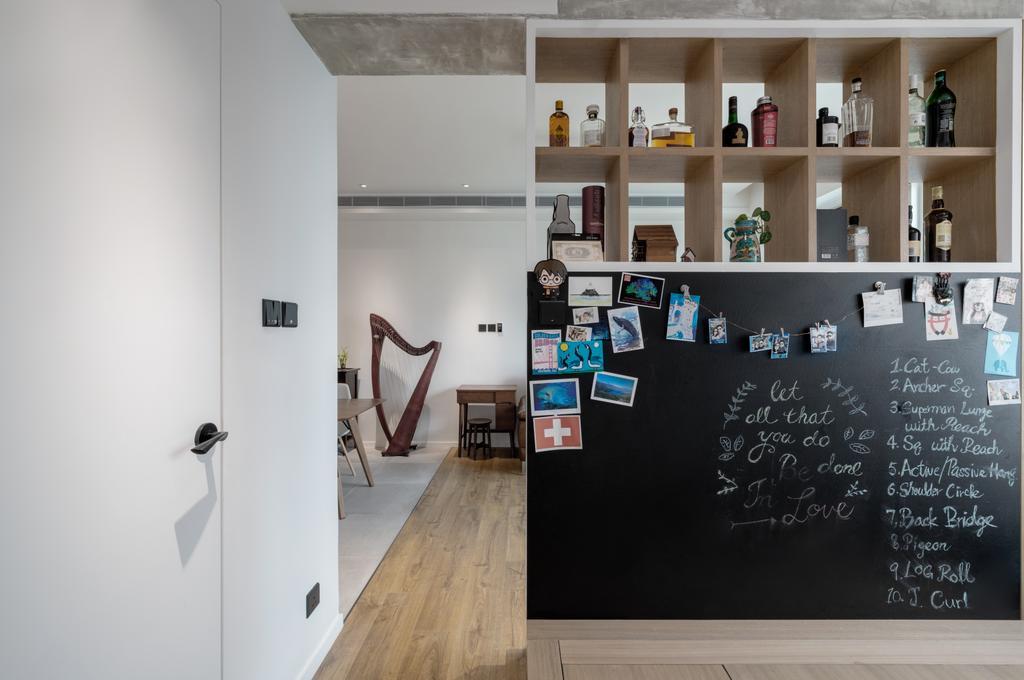 摩登, 私家樓, 客廳, 現崇山, 室內設計師, N'creative, 北歐