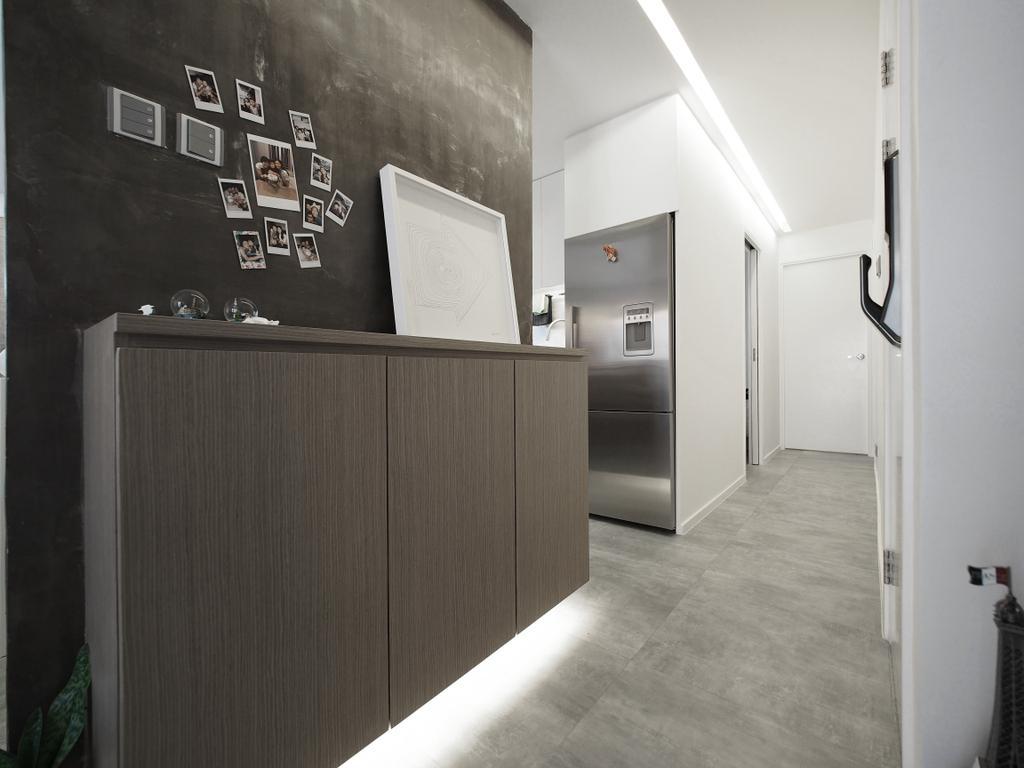 工業, 獨立屋, 客廳, 南山村, 室內設計師, N'creative, 摩登