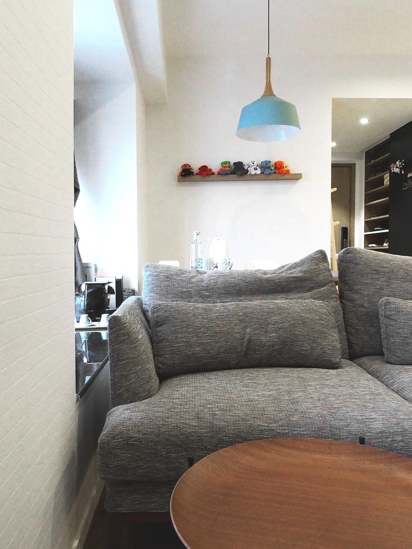 私家樓, 客廳, 麗都花園, 室內設計師, N'creative