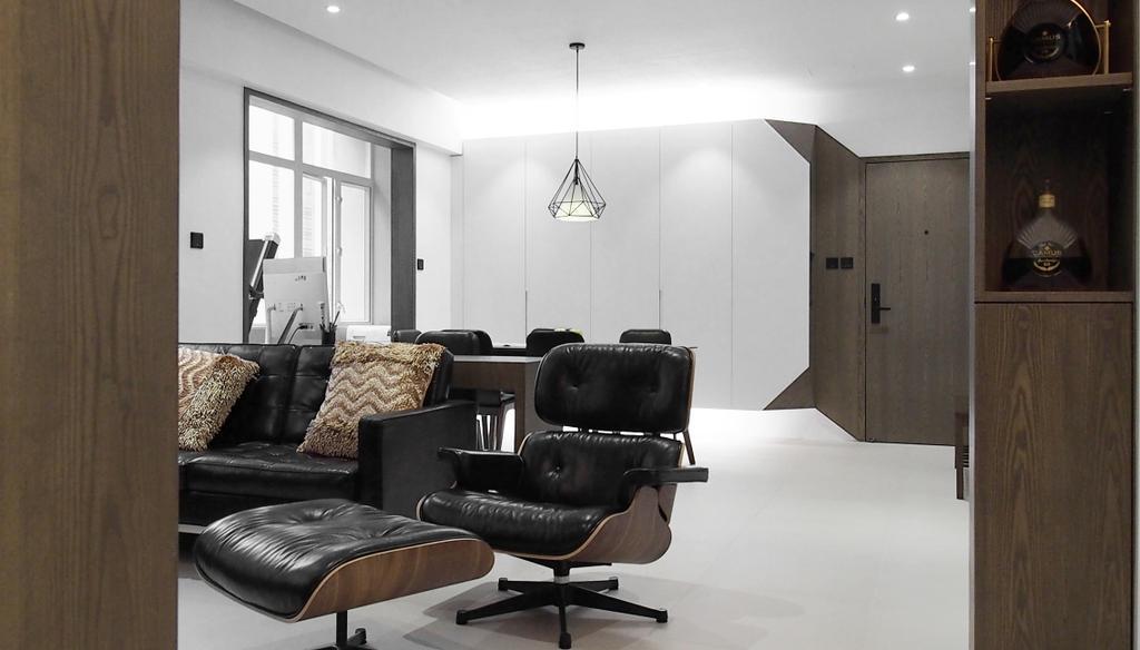 摩登, 私家樓, 客廳, 榮英大廈, 室內設計師, N'creative