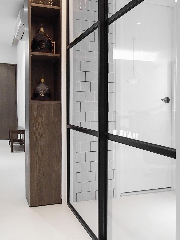 摩登, 私家樓, 榮英大廈, 室內設計師, N'creative