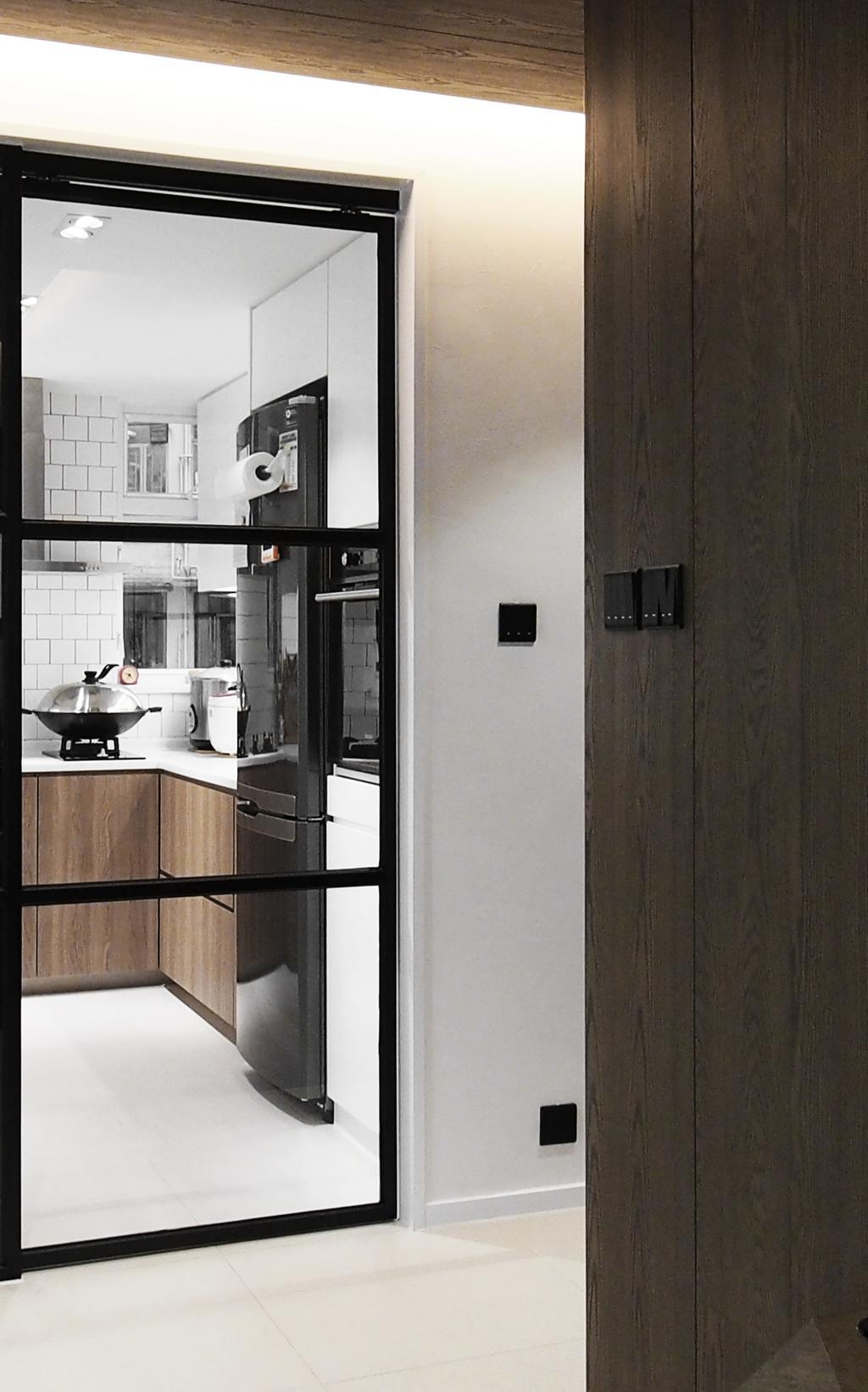 摩登, 私家樓, 廚房, 榮英大廈, 室內設計師, N'creative