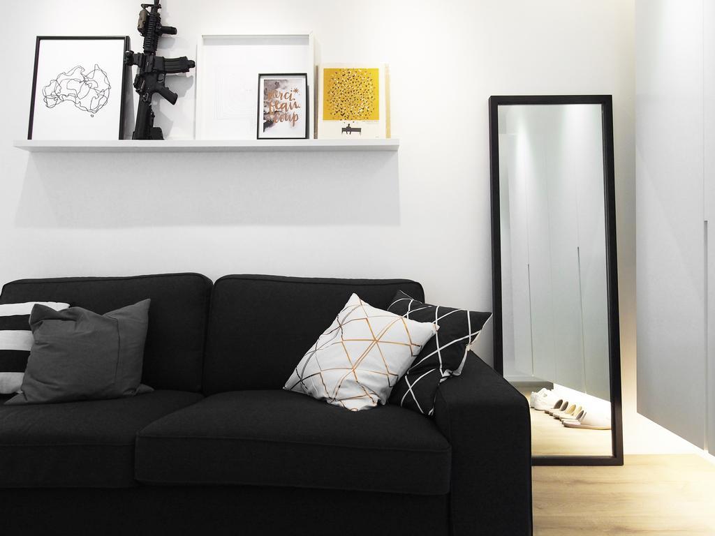 工業, 私家樓, 客廳, 浪翠園, 室內設計師, N'creative