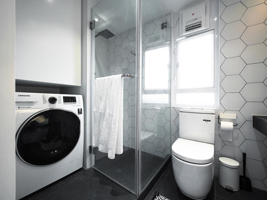 工業, 私家樓, 浴室, 浪翠園, 室內設計師, N'creative