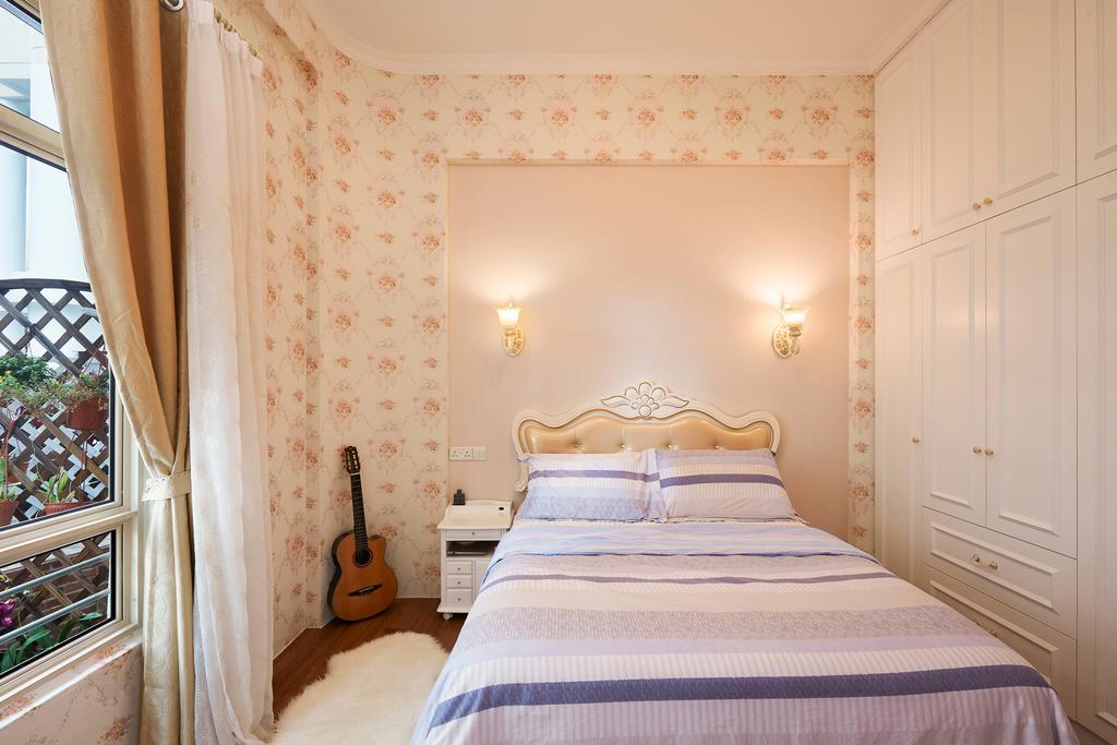 Vintage, Condo, Bedroom, Northvale, Interior Designer, U-Home Interior Design