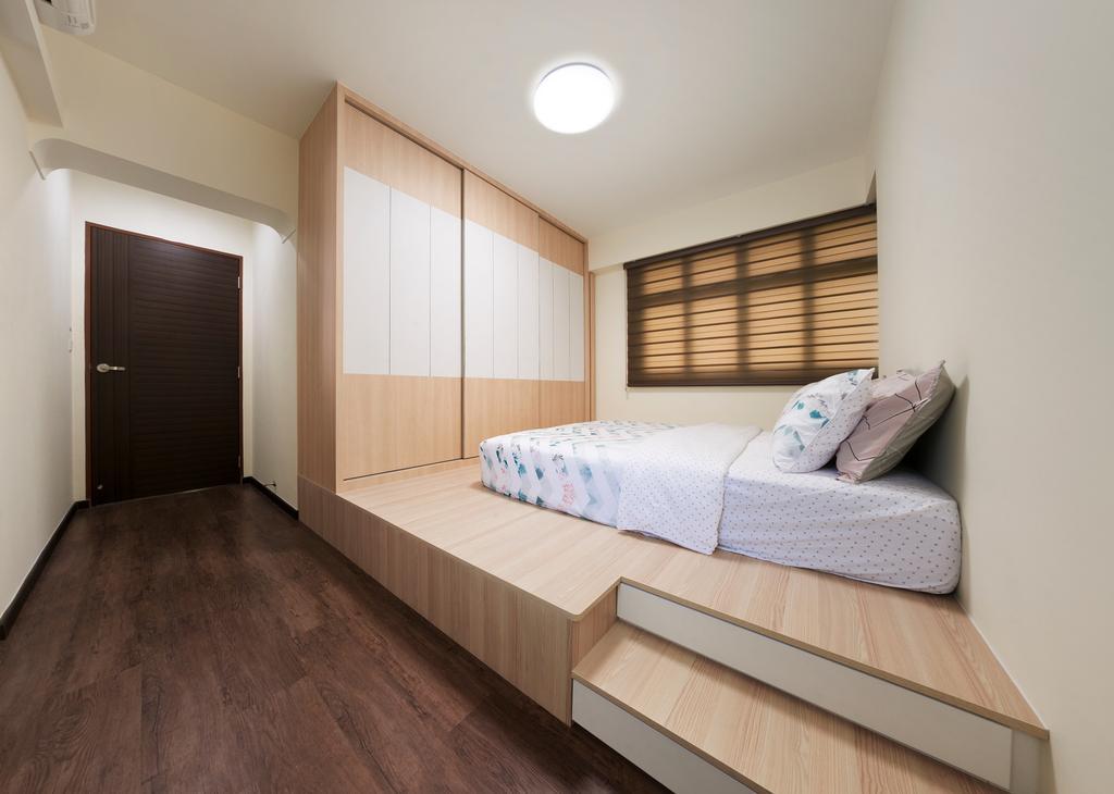 Contemporary, HDB, Bedroom, Clementi Avenue 6, Interior Designer, U-Home Interior Design