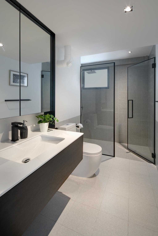 Modern, HDB, Bathroom, Marine Drive, Architect, PROVOLK ARCHITECTS