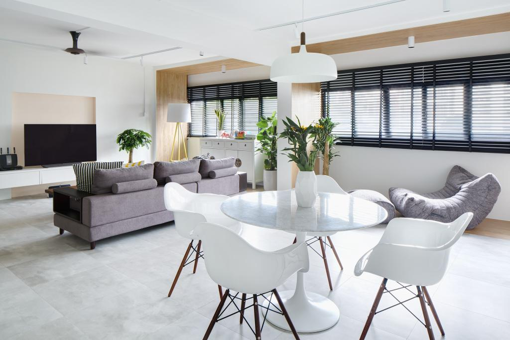 Modern, HDB, Living Room, Marine Drive, Architect, PROVOLK ARCHITECTS