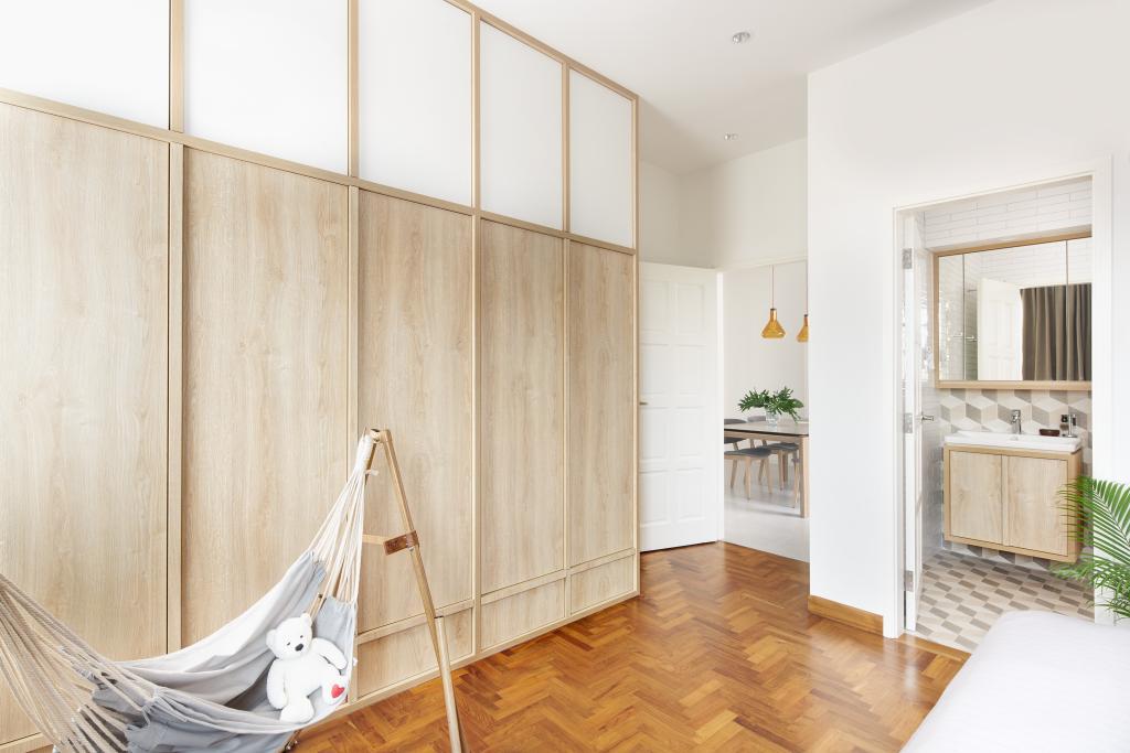 Scandinavian, Condo, Bedroom, Pin Mansions, Architect, PROVOLK ARCHITECTS