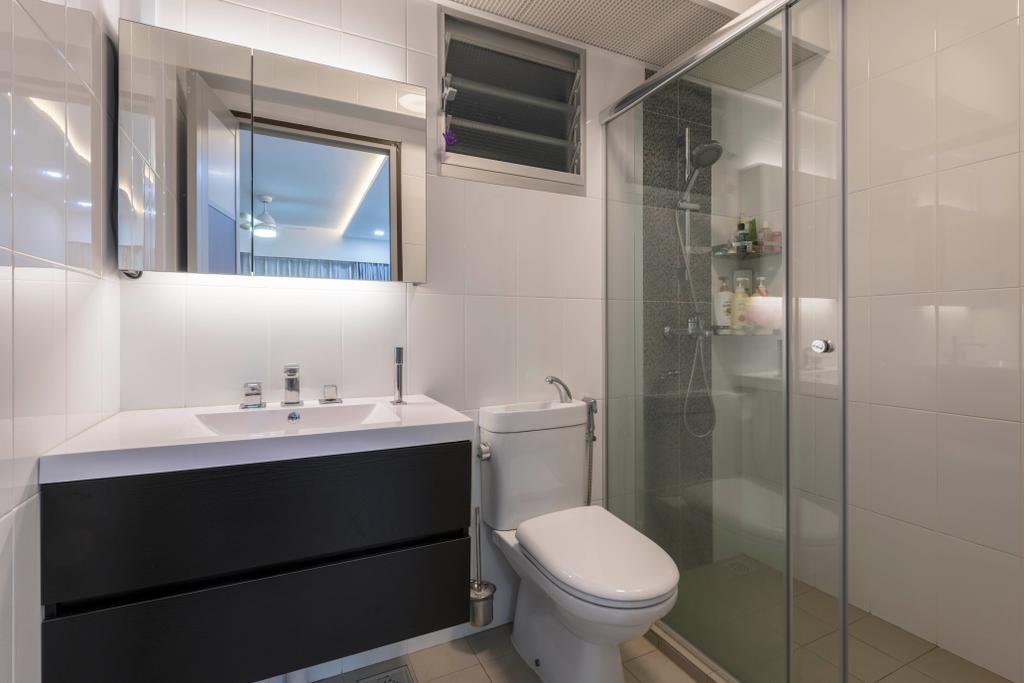 Contemporary, HDB, Bathroom, Woodlands Drive 73, Interior Designer, Project Guru