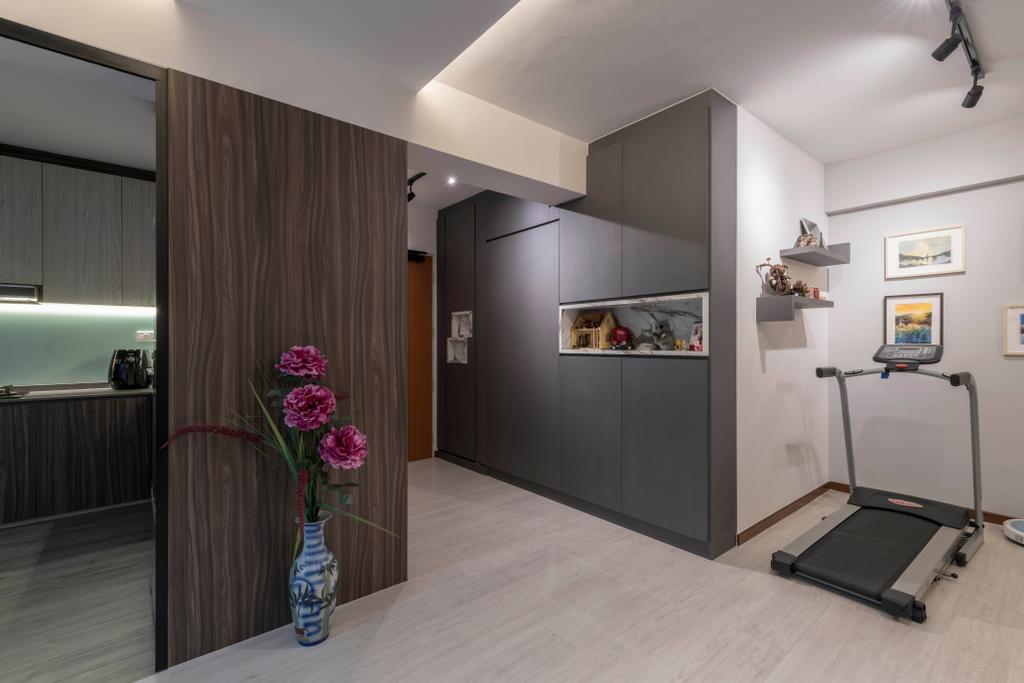 Contemporary, HDB, Woodlands Drive 73, Interior Designer, Project Guru