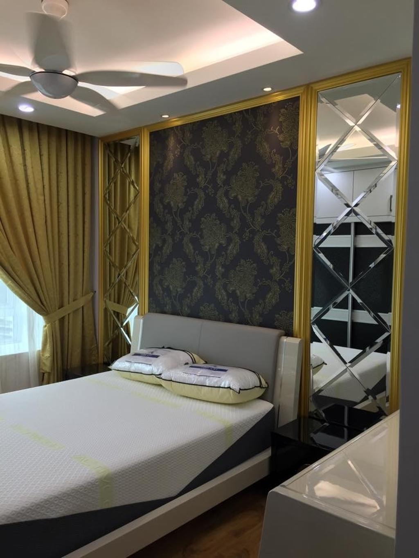 Modern, Apartment, Saville - Taman Melawati, Interior Designer, Azamhadi Interior Designer, Contemporary