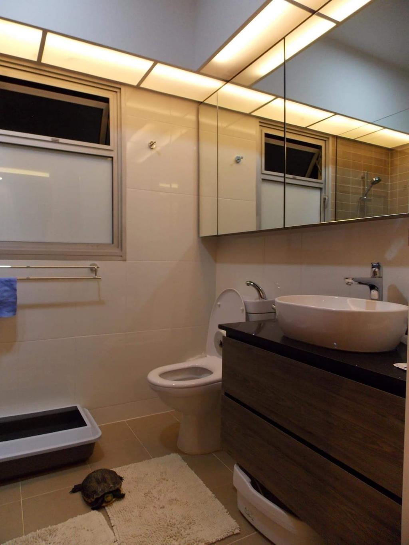 HDB, Bathroom, Canberra Crescent, Interior Designer, Design Identity