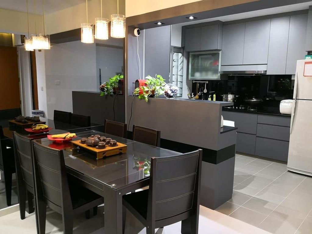 HDB, Dining Room, Canberra Crescent, Interior Designer, Design Identity