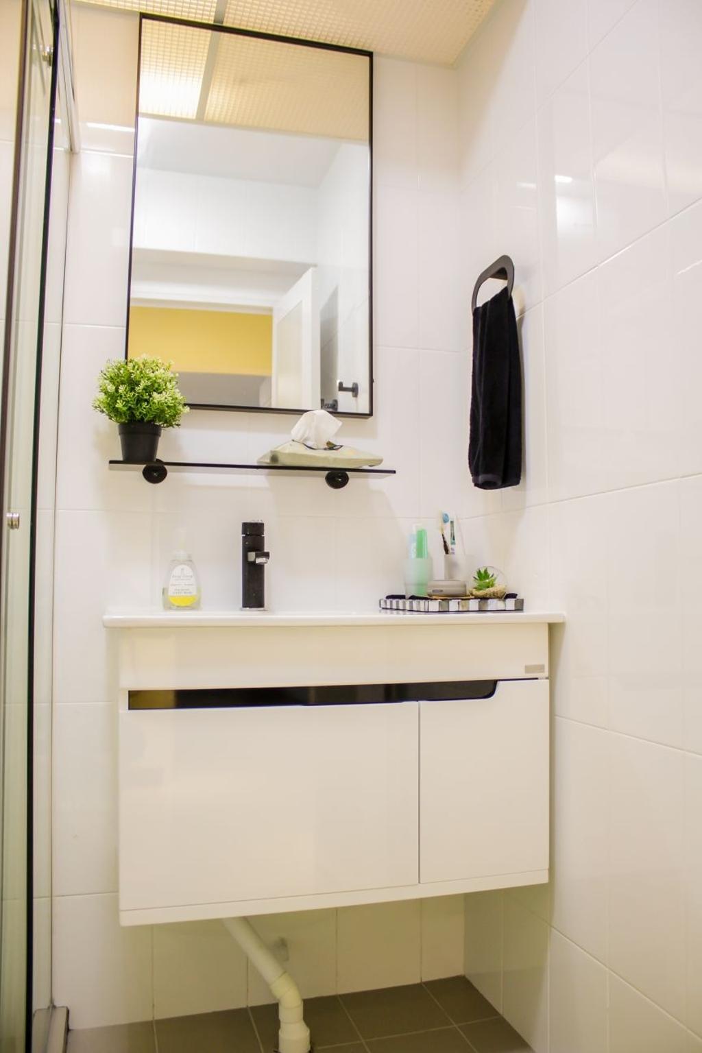 Modern, HDB, Bathroom, Buangkok Crescent (Block 997), Interior Designer, Design Identity