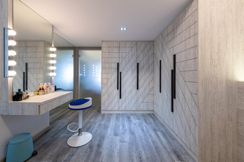 Industrial, HDB, Bedroom, Bukit Batok West Avenue 8, Interior Designer, Design Identity