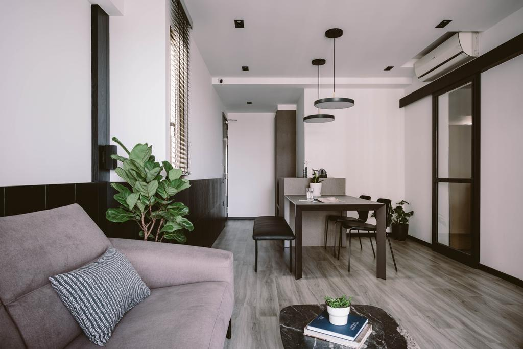 Contemporary, Condo, Dining Room, Parc Vera, Interior Designer, Habit