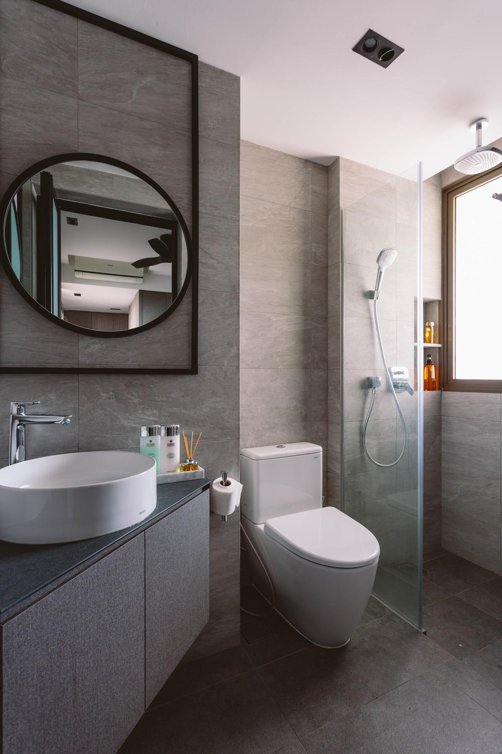 Contemporary, Condo, Bathroom, Parc Vera, Interior Designer, Habit