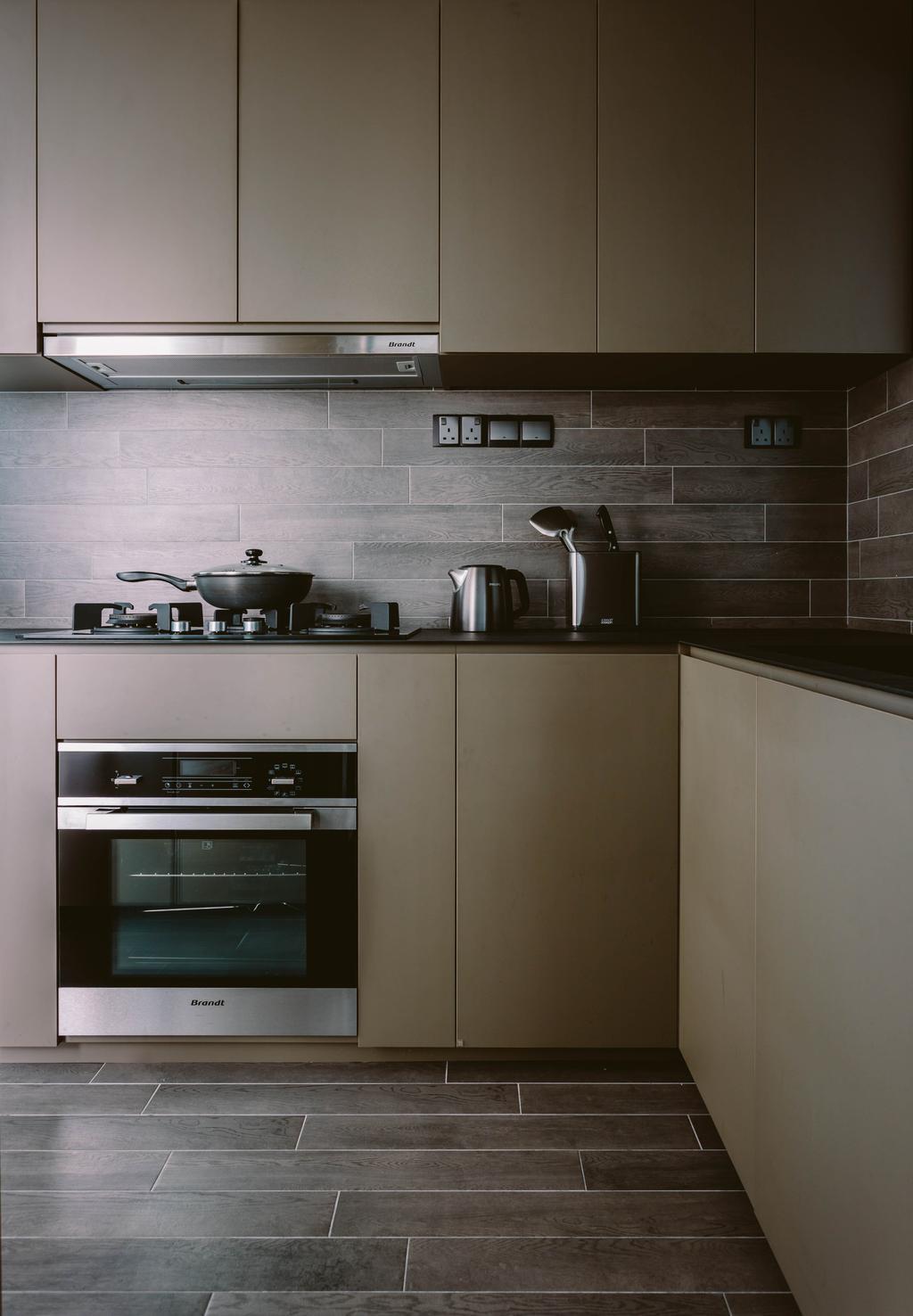 Contemporary, Condo, Kitchen, Parc Vera, Interior Designer, Habit