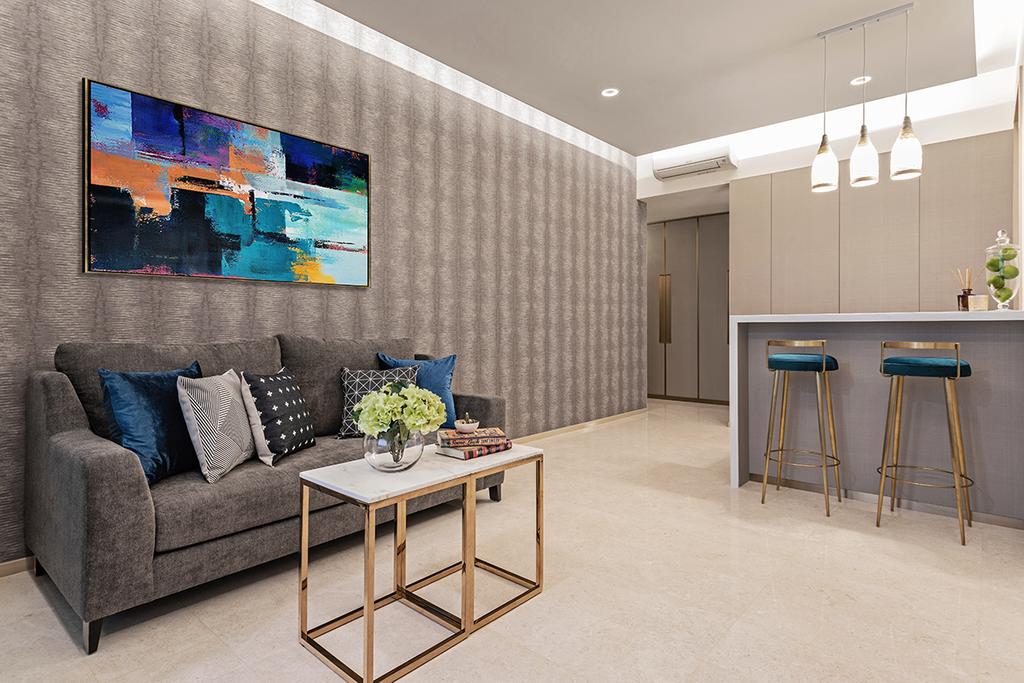 Contemporary, Condo, Living Room, Panorama, Interior Designer, Ark Interior