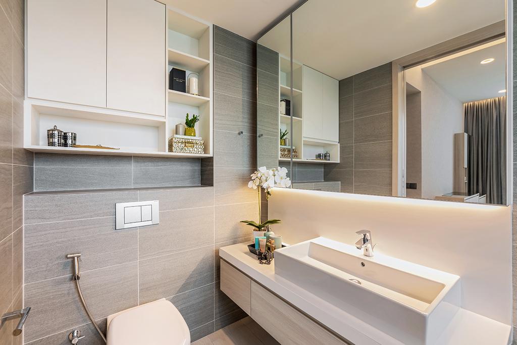 Contemporary, Condo, Bathroom, Panorama, Interior Designer, Ark Interior