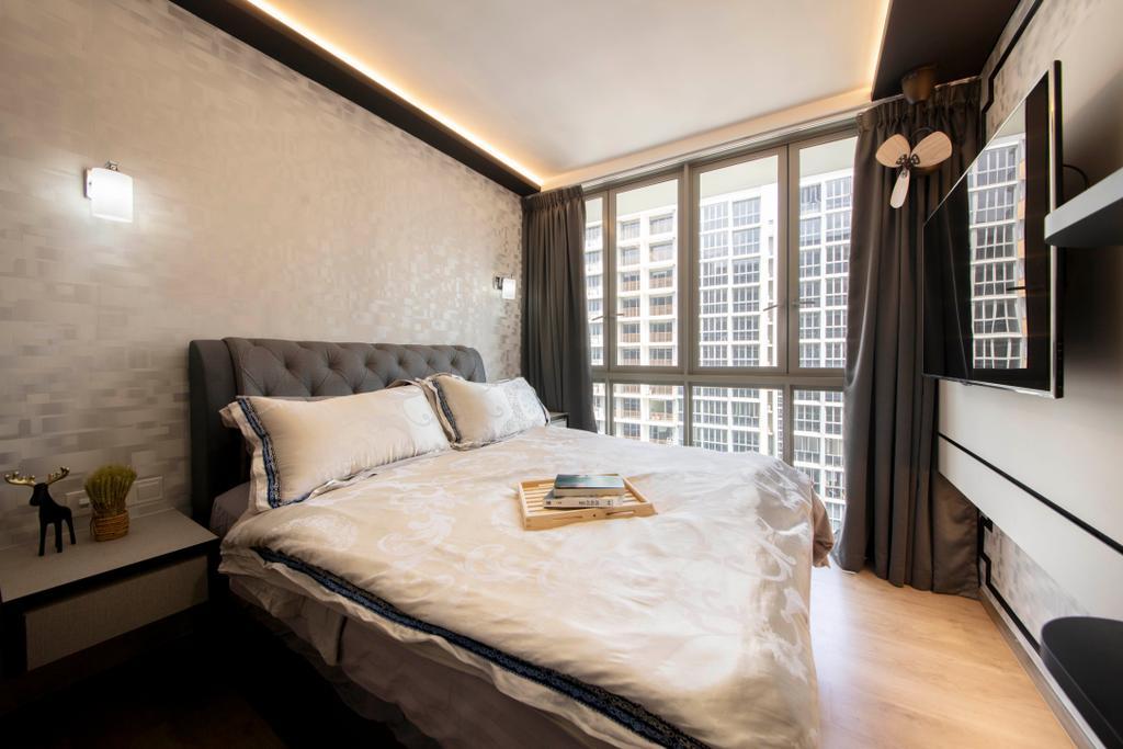 Contemporary, Condo, Bedroom, Sol Acres, Interior Designer, Starry Homestead