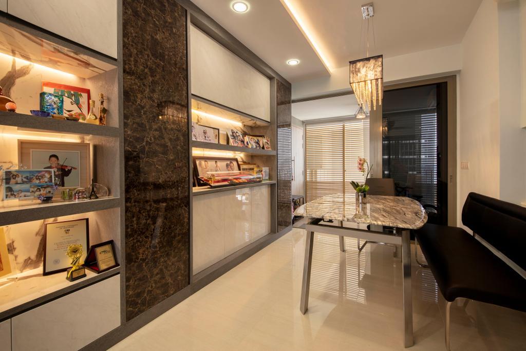 Contemporary, Condo, Dining Room, Sol Acres, Interior Designer, Starry Homestead