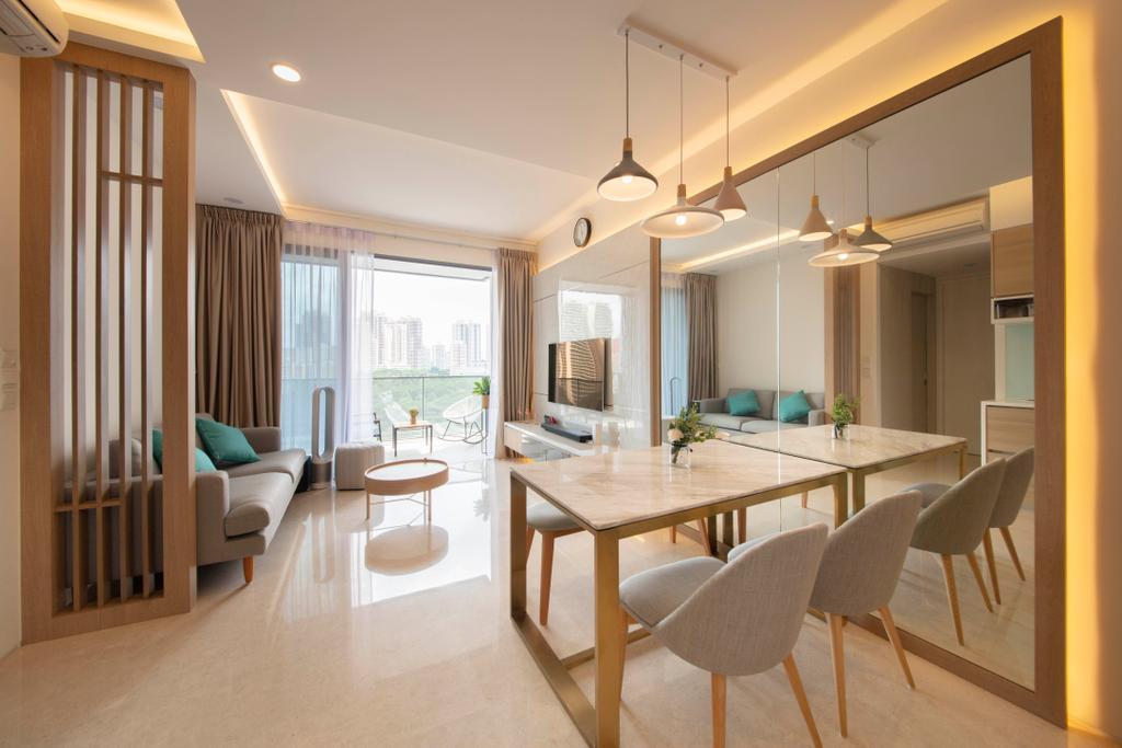 Contemporary, Condo, Dining Room, VIIO @ Balestier, Interior Designer, Starry Homestead